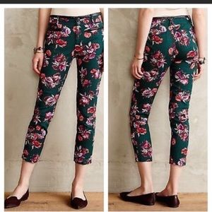 Cartonnier | Floral Charlie Ankle Trousers